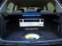 Audio System Musikanlage in VW Golf 5 montiert.